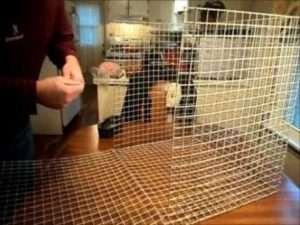 варіанти металевих кліток для кроликів