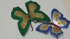 декоративні метелики з пластику