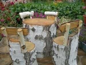 садові меблі з дерева