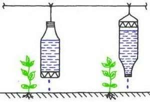 підвісна система крапельного поливу
