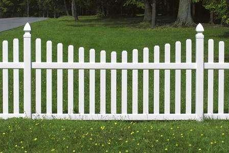 Як зробити дерев'яний паркан зі штахету на дачі своїми руками: встановлення з описом та фото