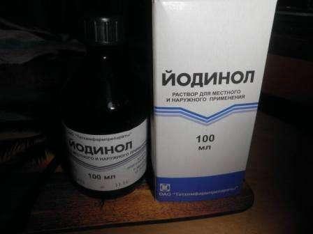 Синій йод (йодинол) для курей: характеристика, лікування та інструкція по застосуванню з фото