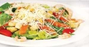 Салат з сьомгою