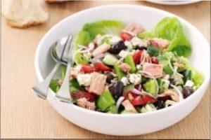 Новорічний салат з морепродуктами