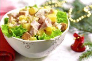 Гавайський салат