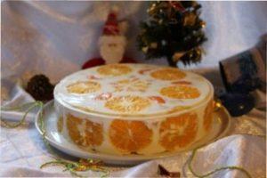 Торт на новий рік.