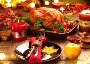 Головні гарячі страви до Нового року 2021 року білого металевого Бика