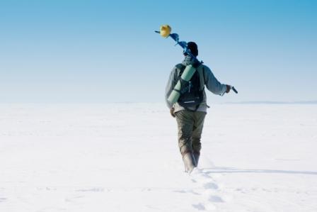 Зимова рибалка в Україні