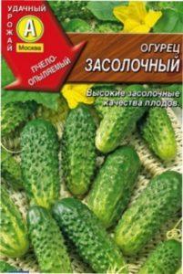 Огірки засолочні опис