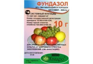 Фундазол препарат