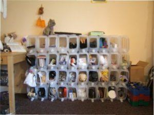 Ємності для зберігання з пластикових пляшок фото
