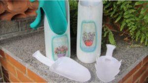 Ідея 7. Садовий інвентар з пластикових пляшок своїми руками
