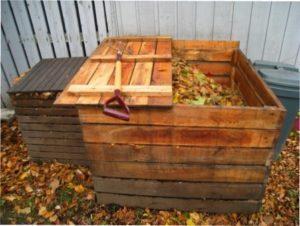 Ящик під компост і інші ємності на дачі своїми руками