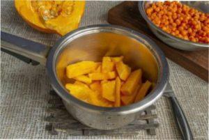 рецепт приготування корисного желе з обліпихи з гарбузом
