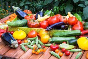 Збір врожаю овочів у 2020 році