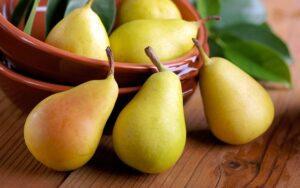 Визначення стиглості плоду груші - фото.