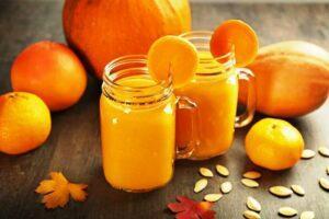 Рецепт гарбузового соку з лимоном і цукром