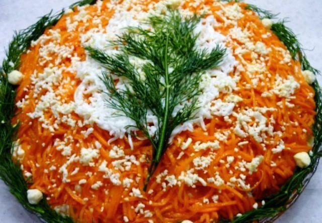 Салати на Новий 2021 рік Бика: прості і смачні рецепти