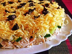 Святковий салат «Каприз»